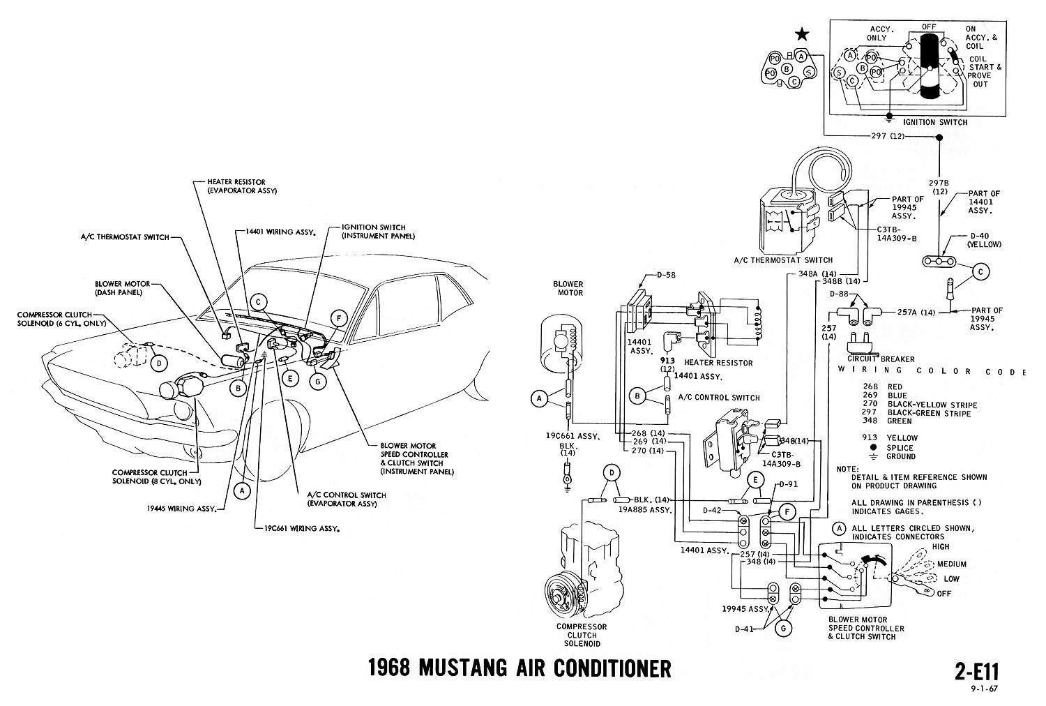 vintage air conditioning wiring diagram